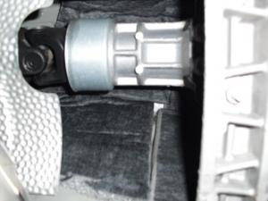 ■フロア■ センタートンネル部分の防音対策(マークX) [写真2]
