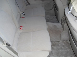 ■フロア■ 後部座席&足元の防音対策のやり直し(マークX) [写真2]