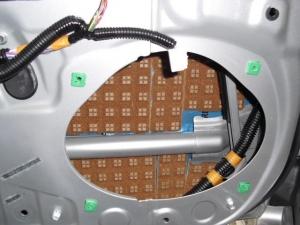 ■ドア■ フロントドアのデッドニング&防音対策のやり直し その2(マークX) [写真2]