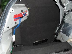 ■フロア■ トランクのデッドニング(防音対策)1日目 その2(マークX) [写真2]