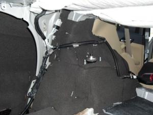 ■フロア■ トランクのデッドニング(防音対策)1日目 その2(マークX) [写真3]