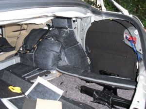 ■フロア■ トランクのデッドニング(防音対策)2日目(マークX) [写真3]