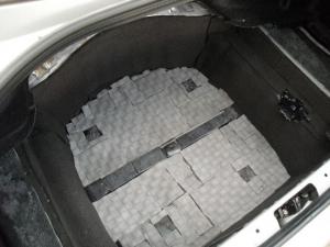 ■フロア■ トランクのデッドニング(防音対策)3日目(マークX) [写真3]