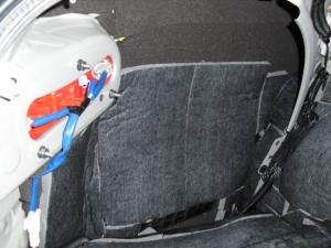 ■フロア■ トランクのデッドニング(防音対策)4日目(マークX) [写真1]