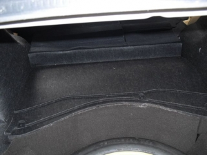 ■フロア■ トランクのデッドニング(防音対策)4日目(マークX) [写真5]