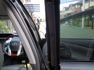 ■ドア■ 運転席側、後席ドアパッキン部防音対策(プリウスα) [写真2]