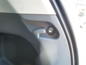 ■ピラー■ 運転席側Cピラー(タイヤハウス周辺)の防音対策 その1(プリウスα) [写真4]