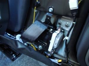 ■ピラー■ 運転席側Bピラーの防音対策(デッドニング) その1[軽自動車:ワゴンR] [写真7]