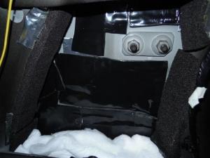 ■ピラー■ 運転席側Bピラーの防音対策(デッドニング) その3[軽自動車:ワゴンR] [写真4]