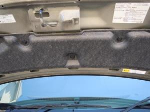 ■エンジンルーム■ ボンネットの防音対策(デッドニング)[軽自動車:ワゴンR] [写真1]