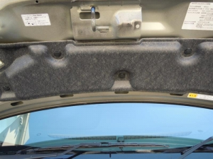■エンジンルーム■ ボンネットの防音対策(デッドニング)[軽自動車:ワゴンR] [写真5]