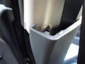 ■ピラー■ 助手席側Bピラーの防音対策(デッドニング) その1[軽自動車:ワゴンR] [写真1]