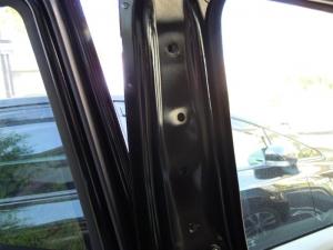 ■ピラー■ 助手席側Bピラーの防音対策(デッドニング) その1[軽自動車:ワゴンR] [写真6]