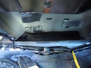 ■ピラー■ 助手席側Bピラーの防音対策(デッドニング) その2[軽自動車:ワゴンR] [写真3]