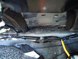 ■ピラー■ 助手席側Bピラーの防音対策(デッドニング) その2[軽自動車:ワゴンR] [写真4]