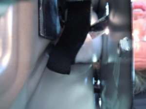 ■ピラー■ 助手席側Bピラーの防音対策(デッドニング) その2[軽自動車:ワゴンR] [写真7]