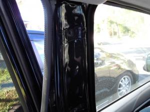 ■ピラー■ 助手席側Bピラーの防音対策(デッドニング) その3[軽自動車:ワゴンR] [写真1]