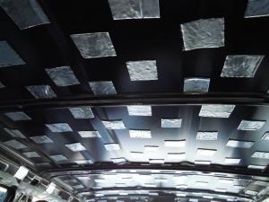 ■天井■ 天井の防音対策(デッドニング) その6[軽自動車:ワゴンR] [写真2]