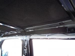 ■天井■ 天井の防音対策(デッドニング) その7[軽自動車:ワゴンR] [写真8]