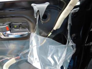 ■ドア■ フロントドア助手席側のデッドニング&防音対策 その2[軽自動車:ワゴンR] [写真5]