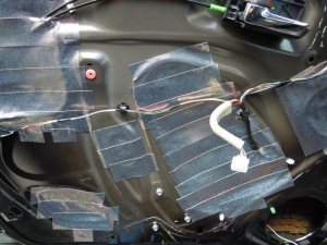 ■ドア■ フロントドア助手席側のデッドニング&防音対策 その3[軽自動車:ワゴンR] [写真5]