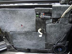 ■ドア■ フロントドア助手席側のデッドニング&防音対策 その4[軽自動車:ワゴンR] [写真3]