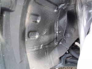 ■タイヤハウス■ 運転席側フロントタイヤハウスのロードノイズ防音対策 その2[軽自動車:ワゴンR] [写真5]