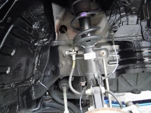■タイヤハウス■ 運転席側フロントタイヤハウスのロードノイズ防音対策 その2[軽自動車:ワゴンR] [写真30]