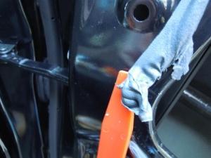 ■ドア■ フロントドア運転席側のデッドニング&防音対策 その2[軽自動車:ワゴンR] [写真5]