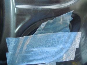 ■ドア■ フロントドア運転席側のデッドニング&防音対策 その3[軽自動車:ワゴンR] [写真4]
