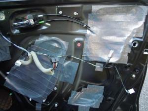 ■ドア■ フロントドア運転席側のデッドニング&防音対策 その3[軽自動車:ワゴンR] [写真5]