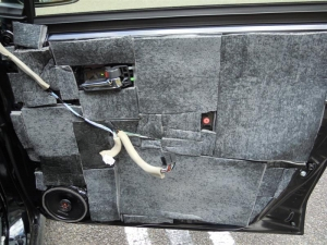 ■ドア■ フロントドア運転席側のデッドニング&防音対策 その4[軽自動車:ワゴンR] [写真3]