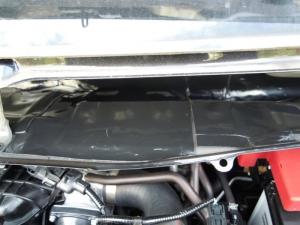 ■エンジンルーム■ エンジンルーム側バルクヘッド上部の防音対策(デッドニング) その3[軽自動車:ワゴンR] [写真2]