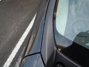 ■エンジンルーム■ エンジンルーム側バルクヘッド上部の防音対策(デッドニング) その4[軽自動車:ワゴンR] [写真4]
