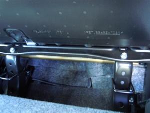 ■フロア■ フロアの防音対策・デッドニング 2列目 その1 [軽自動車:ワゴンR] [写真1]