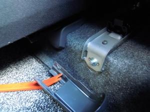 ■フロア■ フロアの防音対策・デッドニング 2列目 その1 [軽自動車:ワゴンR] [写真5]