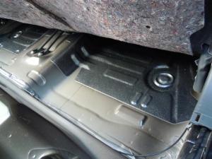 ■フロア■ フロアの防音対策・デッドニング 2列目 その2 [軽自動車:ワゴンR] [写真2]