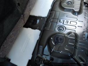 ■フロア■ フロアの防音対策・デッドニング 2列目 その2 [軽自動車:ワゴンR] [写真1]