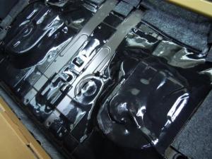 ■フロア■ フロアの防音対策・デッドニング 2列目 その3 [軽自動車:ワゴンR] [写真1]