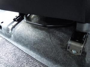 ■フロア■ フロアの防音対策・デッドニング 2列目 その3 [軽自動車:ワゴンR] [写真30]