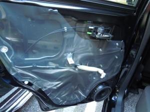 ■ドア■ リアドア助手席側のデッドニング&防音対策 その1[軽自動車:ワゴンR] [写真6]