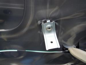 ■ドア■ リアドア助手席側のデッドニング&防音対策 その2[軽自動車:ワゴンR] [写真1]