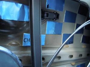 ■ドア■ リアドア助手席側のデッドニング&防音対策 その3[軽自動車:ワゴンR] [写真2]