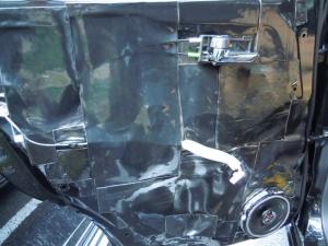 ■ドア■ リアドア助手席側のデッドニング&防音対策 その4[軽自動車:ワゴンR] [写真1]