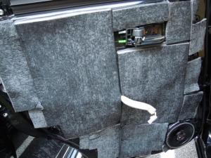 ■ドア■ リアドア助手席側のデッドニング&防音対策 その4[軽自動車:ワゴンR] [写真2]